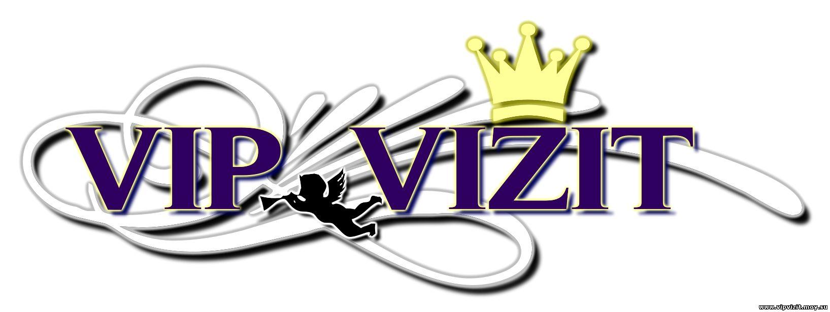 Наш логотип компании VIP VIZIT, защищены